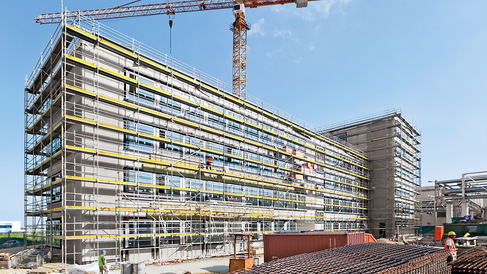 Construction Scaffolding Types : The main types of scaffolding and what they are used for